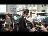Adam Lambert &amp Fans in London 26.03.10