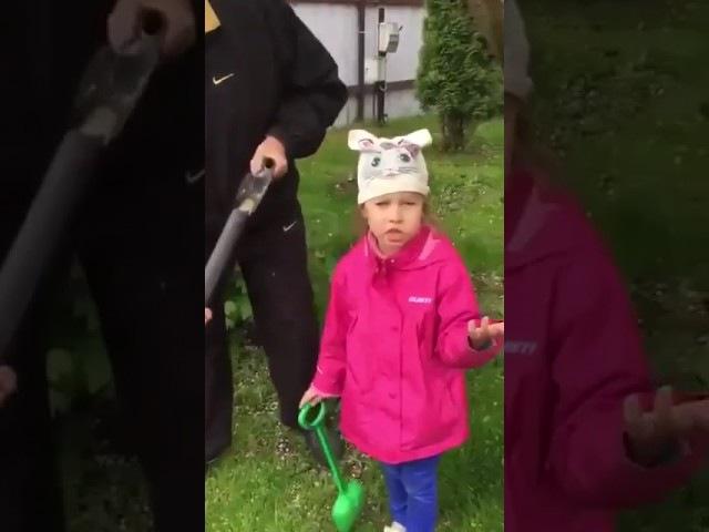 Зачем вы цветы убиваете 5 летняя девочка вмешалась в процесс съемки рекламного ролика