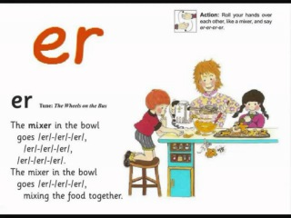 JOLLY PHONICS er song from Read Australia   Having FUN with phonics