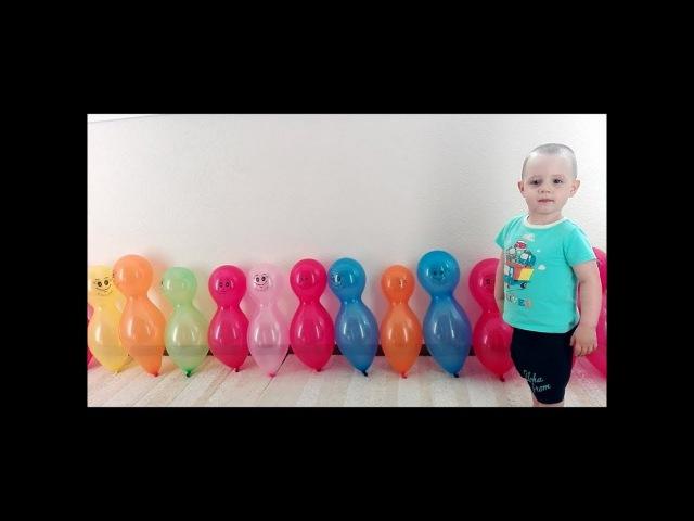 Learn Colors with Balloons ШАРИКИ-ГОЛОВАСТИКИ Учим цвета Лопаем Шарики