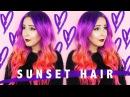 How To Sunset Ombré Hair by tashaleelyn