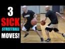 3 Sick Streetball Moves! MINI SLIDE Combos! How To Break Ankles   Get Handles Basketball