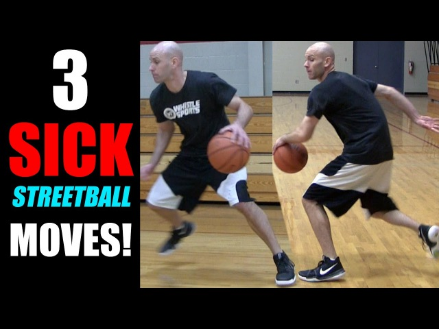 3 Sick Streetball Moves MINI SLIDE Combos How To Break Ankles Get Handles Basketball