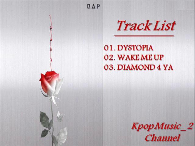[Single Album] 비에이피 (B.A.P) - ROSE