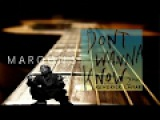 Maroon 5 - Don't Wanna Know feat. 2Pac &amp Kendrick Lamar (NEW 2017)