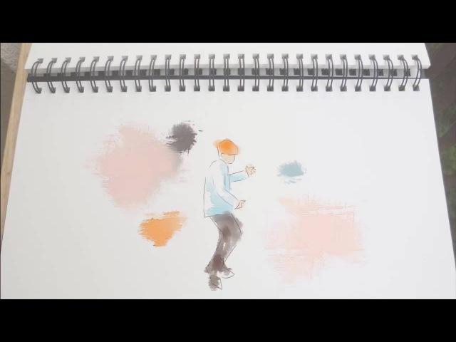 [Talk! Talk! Korea 2016] [Animation] BTS Jimin - Butterfly