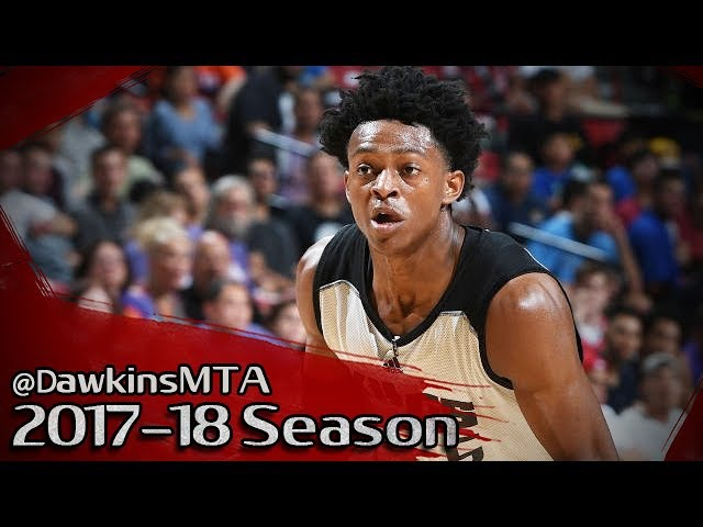 De'Aaron Fox Kings Debut Full Highlights 2017.07.07 vs Suns - 18 Pts, 5 Stls, 4 Assists!