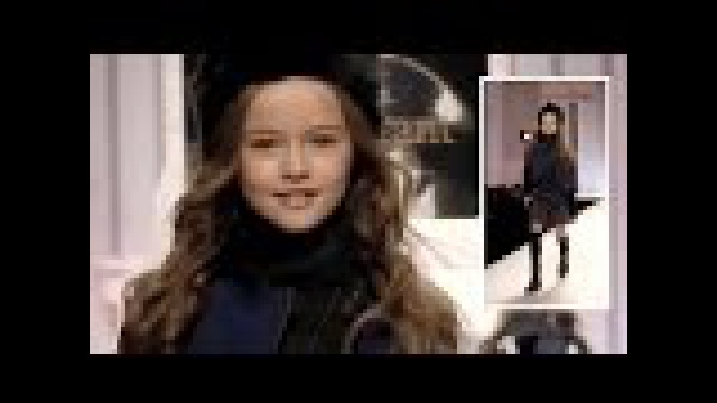 Kristina Pimenova fashion show runway - the most beautiful child model in the world