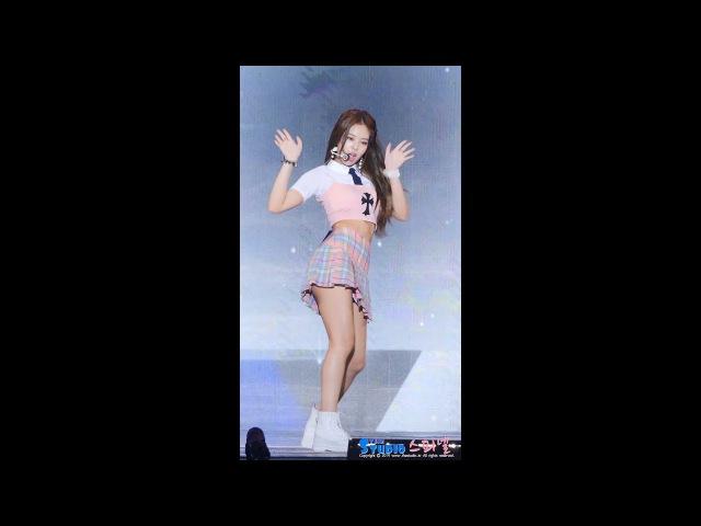170724 블랙핑크 제니 직캠 불장난 BLACKPINK Jennie fancam PLAYING WITH FIRE 울산 음악중심 by Spinel