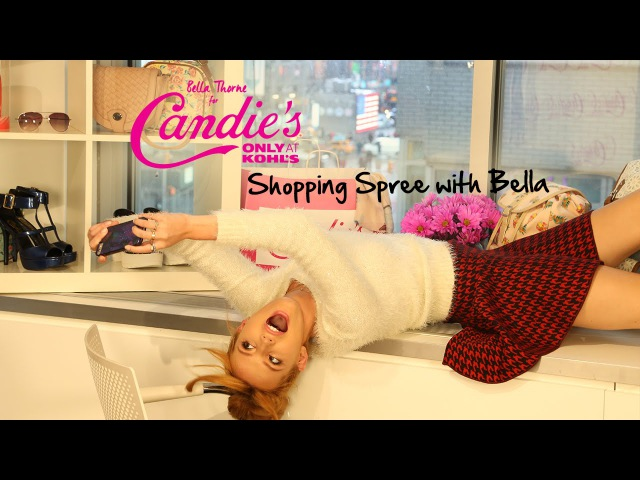 Bella Thornes Holiday Shopping Haul with Candies