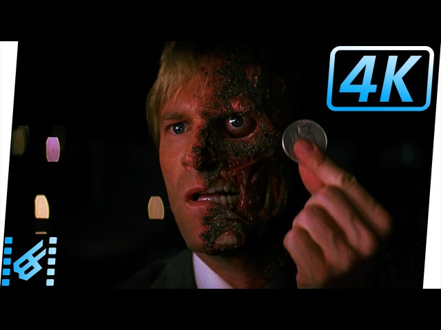 Harvey Dent's Death The Dark Knight 2008 Movie Clip