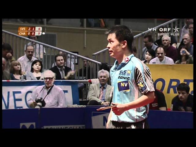 Chen Weixing (SVS NÖ) vs Jean-Michel Saive (Charleroi)