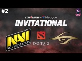 NaVi vs Secret #2 (bo3) SL i-League Invitational Season 3 Minor 14.10.2017