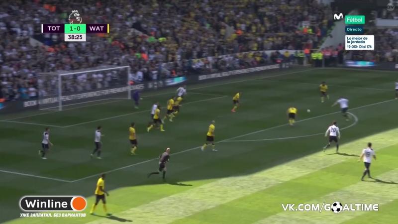ГолТВ рф Тоттенхэм Уотфорд 4 0 Обзор матча Англия Премьер лига