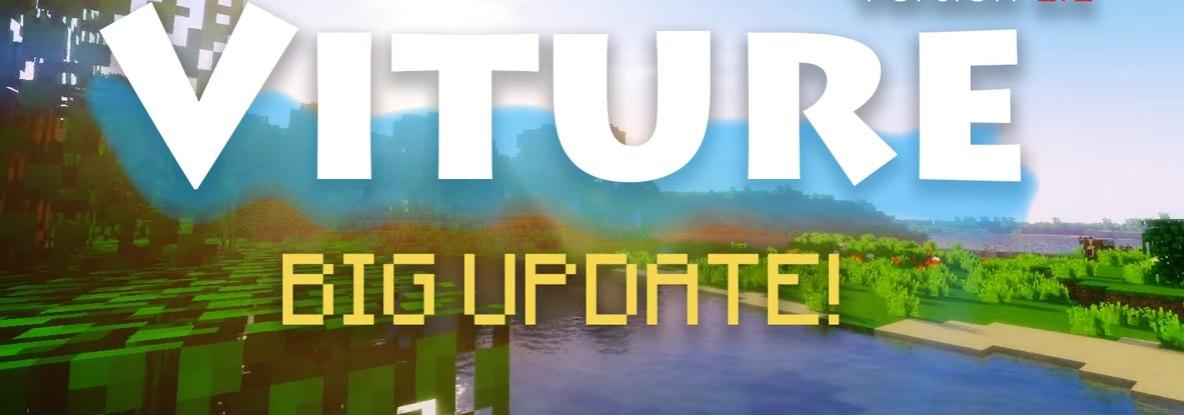 Viture v1.2 - сборка для интересной игры [1.10.2][Client]