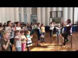 Репетиция в Доме Радио к проекту Газпрома