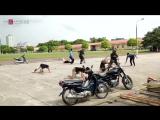 БИЕО.Выступление вьетнамской полиции на фестивале боевых искусств.