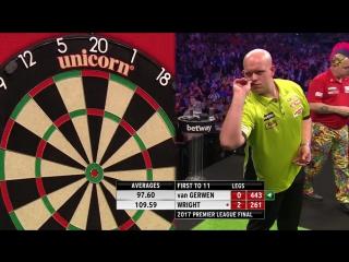 Michael van Gerwen vs Peter Wright (2017 Premier League Darts / Final)