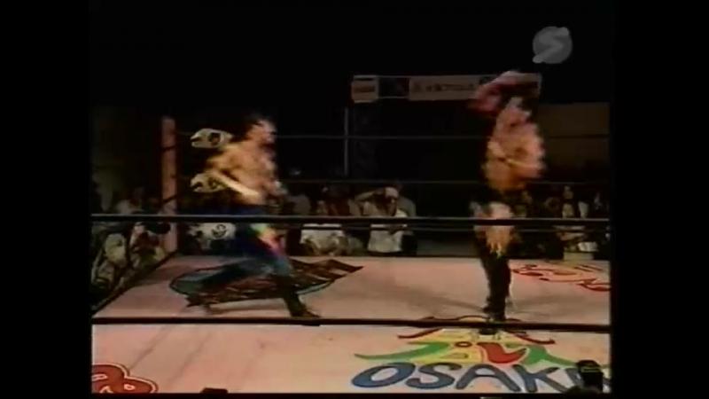 Naohiro Hoshikawa vs. Takehiro Murahama (Osaka Pro - Natsuyasumi! Adventure Series 2000)