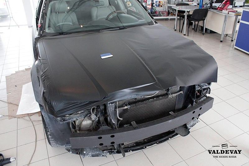 Оклейка авто Chrysler C300