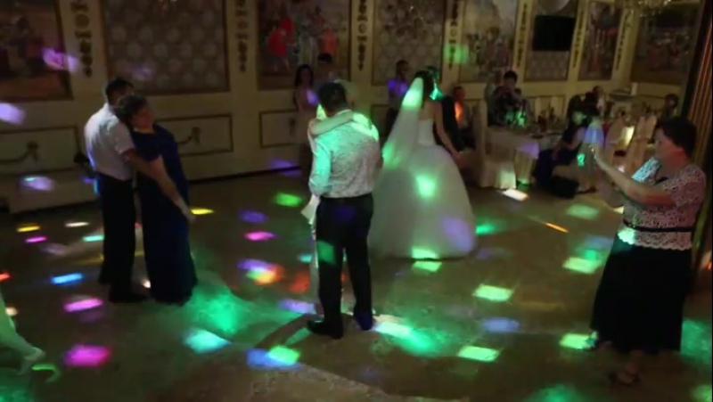 Отрывочек из свадебного фильма