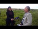Мое интервью ВГТРК Орел на местах боев 137-й стрелковой дивизии в конце июля 1943 г. Запись 2013 г.20130722_140056