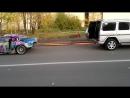Toyota Supra vs Mercedes G-class