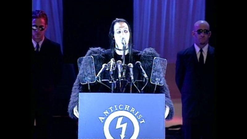 Marilyn Manson - The Beautiful People (MTV VMA 1997)