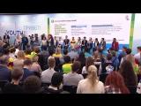 В.Путин на сессии «Молодёжь‑2030. Образ будущего», прошедшей в рамках XIX Всемирного фестиваля молодёжи и студентов