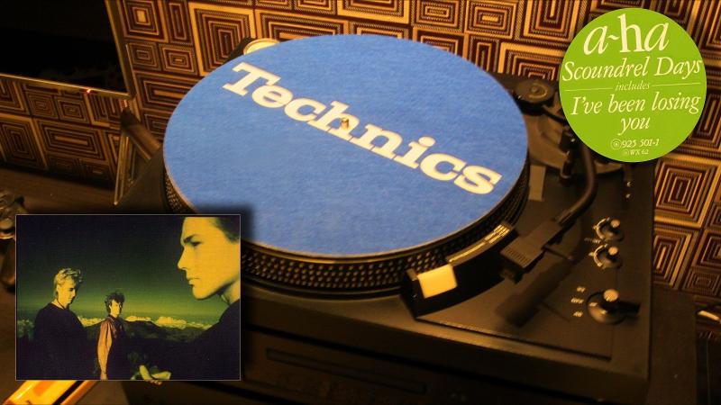 A-ha scoundrel days 1986 vinyl