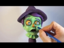 How To Paint ZOMBIE EYES Jim McKenzies The Scarecrow