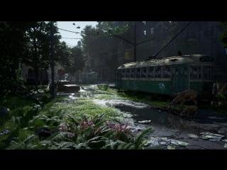 Post apocalyptic nature scene 1080p 60fps