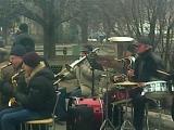 Дебальцево оркестр в честь освобождения города от укропов 28 февраля 2015 год 2 ч.