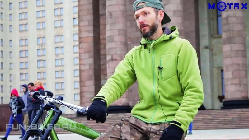 MOTAX Lampa (двухтактный | набор для установки)  на велосипед от компании Интернет-магазин Мотосамокат - видео