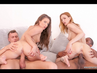 [AnalIntroductions.com / Private.com] Belle Claire, Anita Bellini (Belle Claire and Anita Bellini, interracial orgy with DP / 22