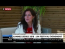 Cannes Series 2018. Sidse Babett Knudsen. 16th October 2017. CNews Fr