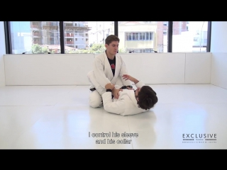 Berimbolo from the Scissor Sweep