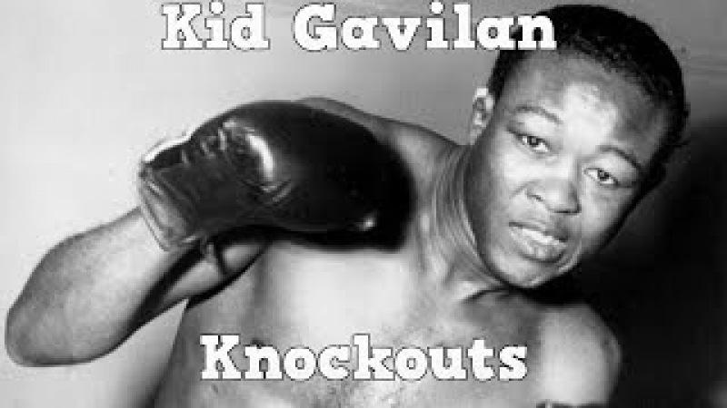 Kid Gavilan - The Cuban Hawk (Highlights Knockouts)