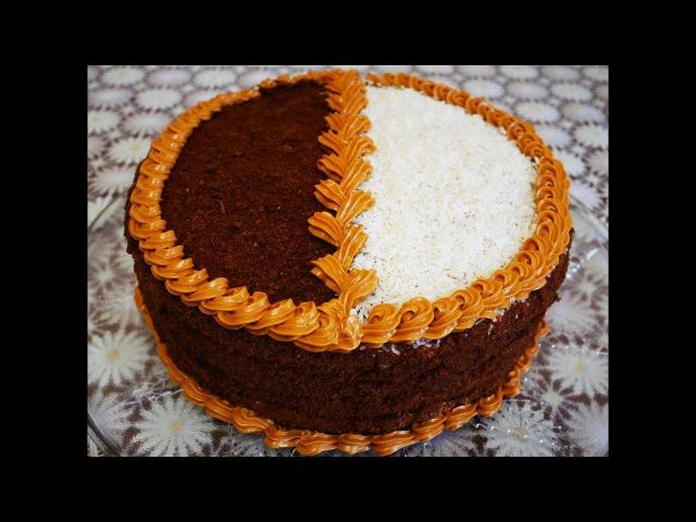 Торт ДЕНЬ и НОЧЬ Рецепт торта пошагово БЕЗУМНО ВКУСНЫЙ торт Рецепты тортов Cake decorating