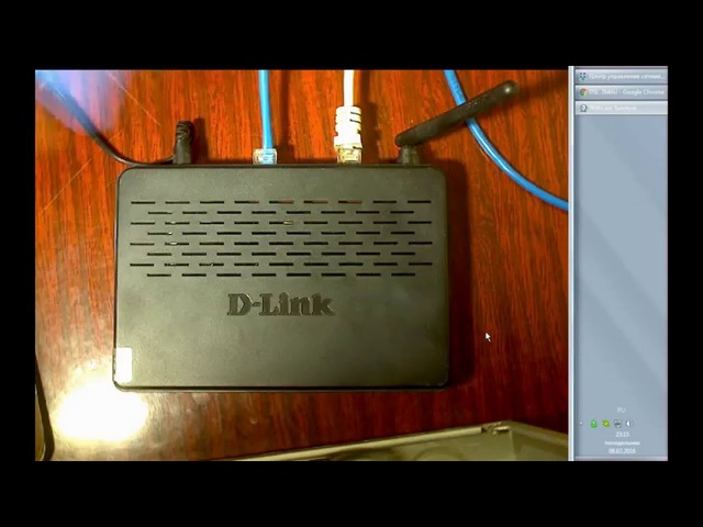 D Link DSL 2640U Из ADSL в Ethernet интернет
