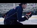 Тренировки на льду. Посадка и толчок.