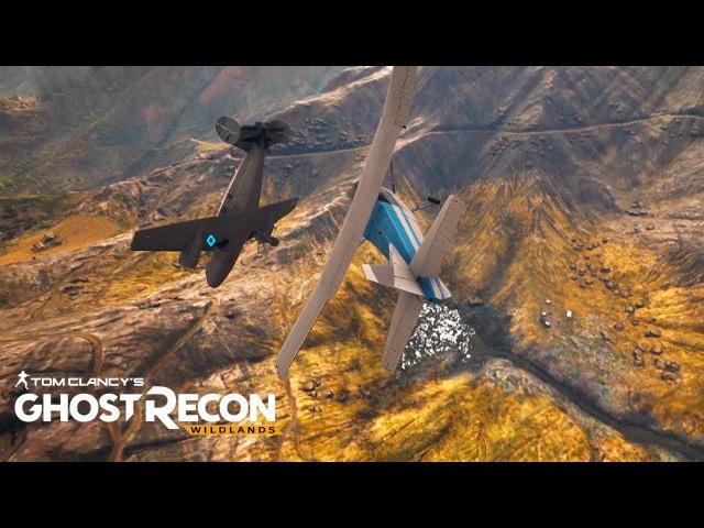 ВЫСШИЙ ПИЛОТАЖ   Ghost Recon: Wildlands 8 (Мультиплеер Co-Op)