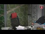 Василий Уткин сломал стул в прямом эфире