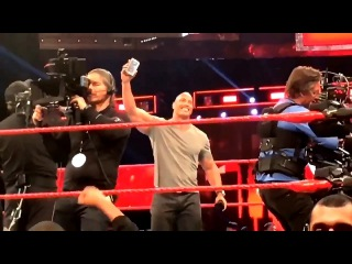The Rock Called CM Punk From A WWE Ring And Left A Message After Raw Went Off The Air