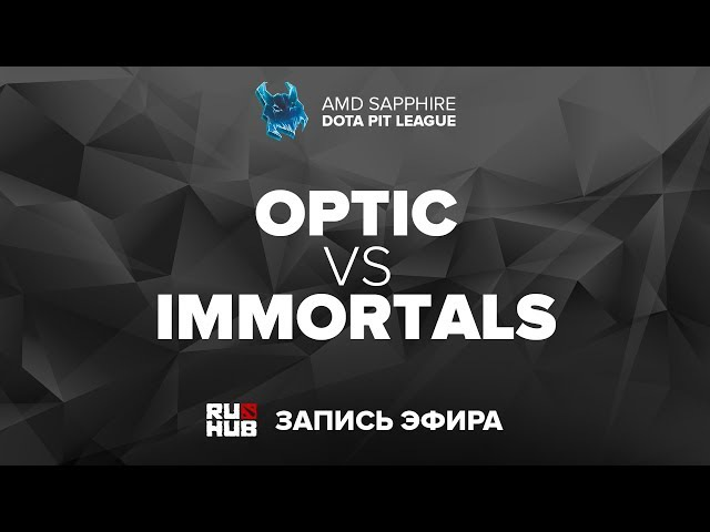 OpTic vs Immortals GAME1 [01.10.2017]