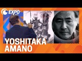 Yoshitaka Amano - History and Live Painting! CRX2017