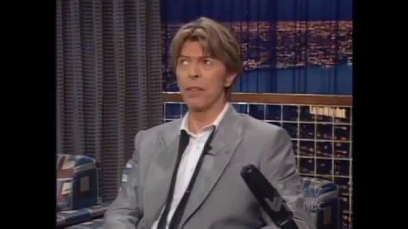 [Rus sub] David Bowie - Late Night With Conan O'Brien 18 June 2002
