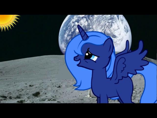 Принцесса луна поет песню своей сестре|Прикол|Видео не мое я просто хотела поделится с ним вам:3