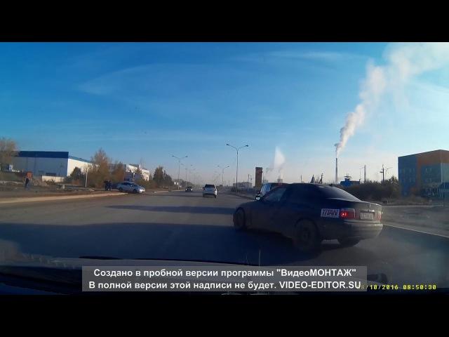 ЖЕСТЬ АВАРИЯ! лоб в лоб BMW в Астане