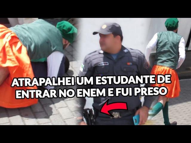 PADRE IRLANDES ATRAPALHANDO ATRASADO DO ENEM (FUI PRESO!) SHOW DOS ATRASADOS